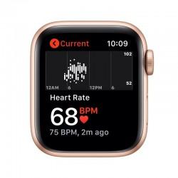 Apple Watch SE GPS 40mm Aluminio en Oro con Correa Deportiva Rosa Arena
