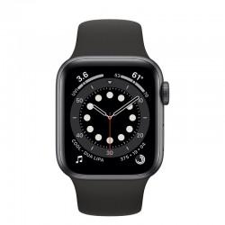 Apple Watch Series 6 GPS 40mm Aluminio en Gris Espacial con Correa Deportiva Negra