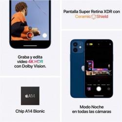 Apple iPhone 12 Mini 128GB Negro Libre