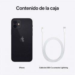 Apple iPhone 12 128GB Negro Libre
