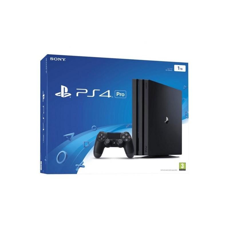 Sony PlayStation 4 Pro 1TB Negra